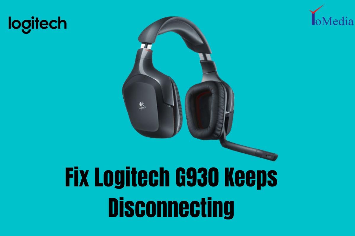 Fix Logitech G930 Keeps Disconnecting