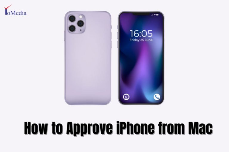 how to approve iphone from mac
