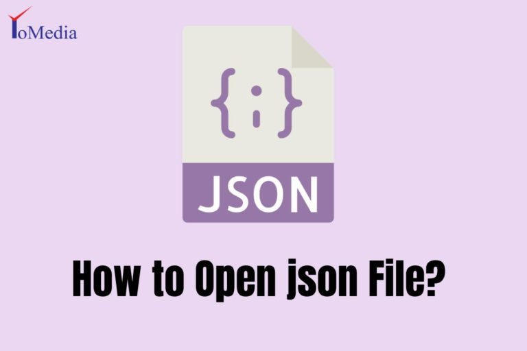 How to Open json File?