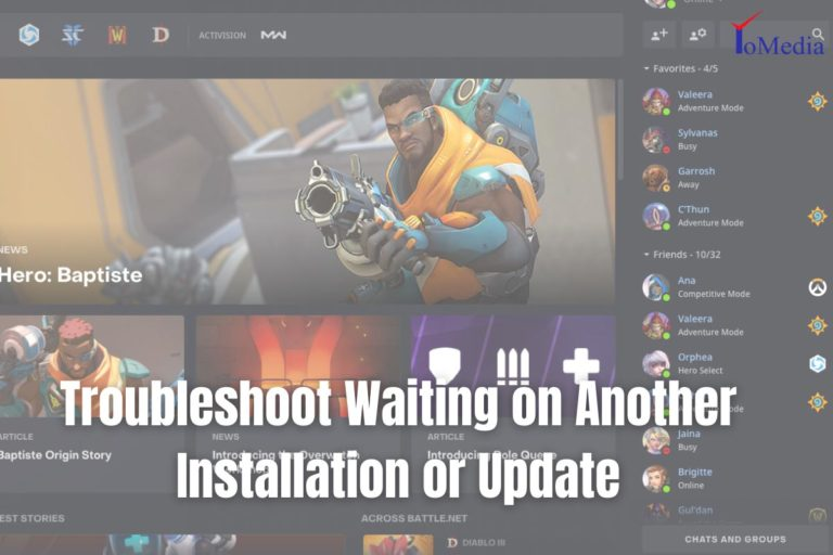 fix waiting on another installation or update