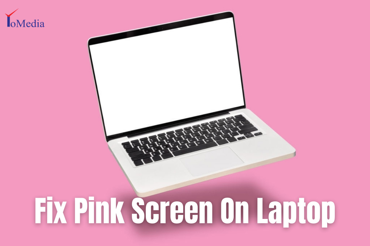 how to fix pink screen on laptop/computer