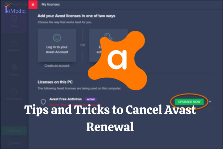 cancel avast renewal