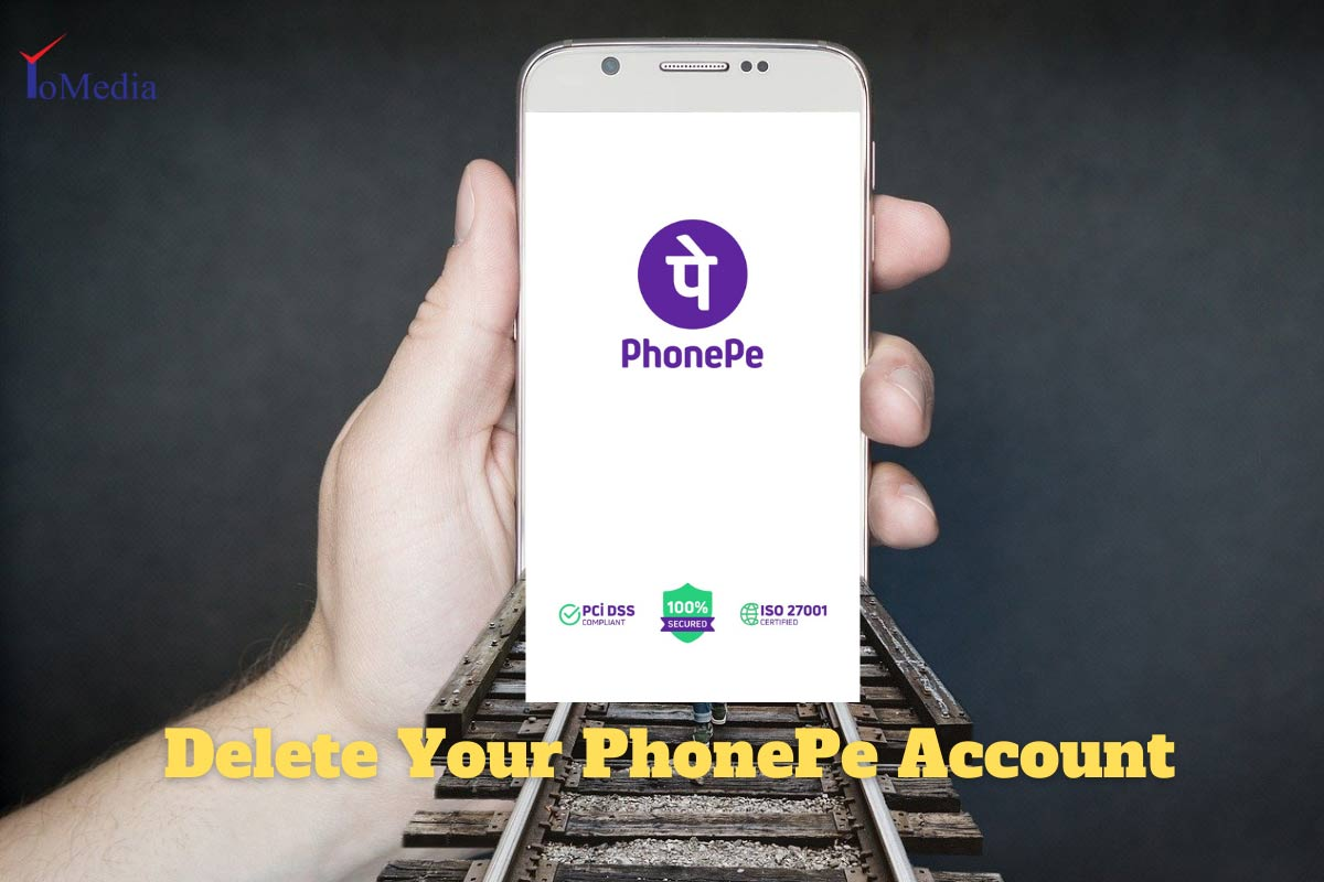delete PhonePe account