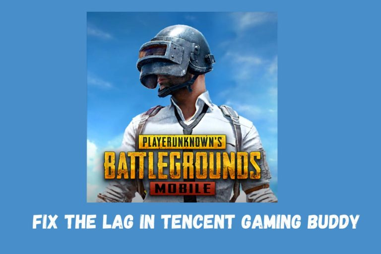 Fix Lag In Tencent Gaming Buddy