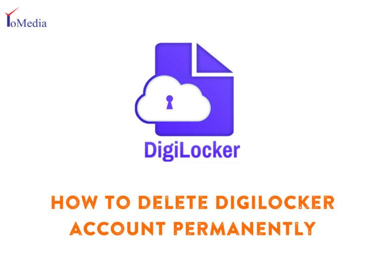 how to delete digilocker account permanently